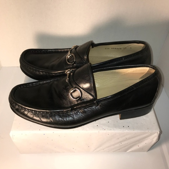 be645255df1 Gucci Other - Gucci Horsebit Mens Leather Loafer Black Sz 11B